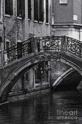 Bridge In Venice 2 Poster