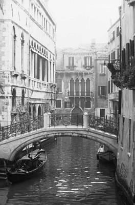 Bridge In Venice Poster by Dorothy Berry-Lound
