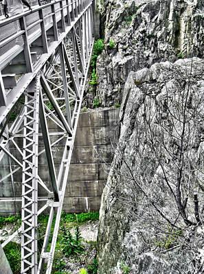 Bridge In Vermont Poster