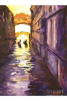 Bridge Of Sighs Poster by Ryan Fox