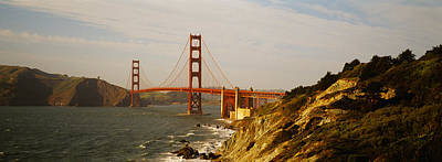 Bridge Over A Bay, Golden Gate Bridge Poster by Panoramic Images