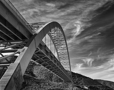 Bridge Over Roosevelt Lake Poster