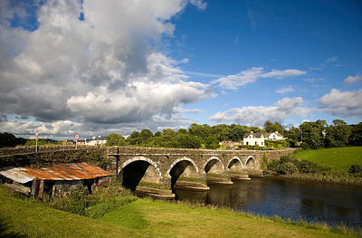 Bridge Over The River Ilen Poster