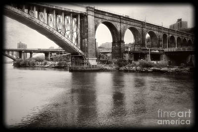 Bridge Reflections Poster by Paul Cammarata