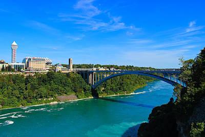 Bridge To Canada Poster by Rachel Cohen