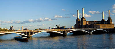 Bridge With Battersea Power Station Poster by Panoramic Images