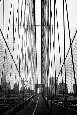 Bridge Work Poster by Joann Vitali