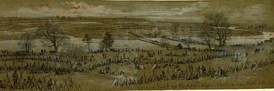 Bridges Built For Reynolds Corps, Sketched From Rebel Rifle Poster