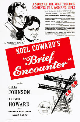 Brief Encounter, Us Poster Art, Top Poster