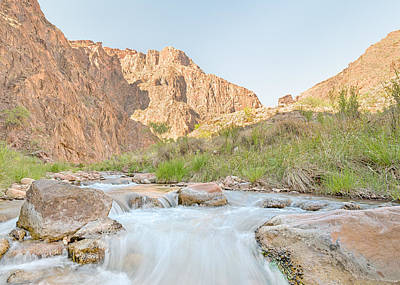 Bright Angel Creek - Grand Canyon National Park - Az Poster by Steve Lagreca