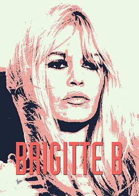 Brigitte B Poster by Chungkong Art
