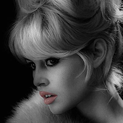 Brigitte Bardot Poster by Andrew Fare
