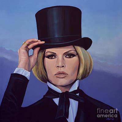 Brigitte Bardot 2 Poster by Paul Meijering