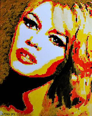 Brigitte Bardot Poster by Victor Minca