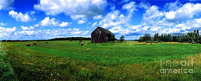 Brimley Farm Near  Sault Ste Marie Michigan  Poster