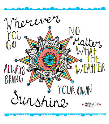 Bring Your Own Sunshine Poster