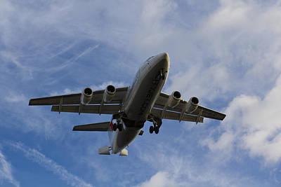 British Aerospace Avro Rj85 Poster by David Pyatt