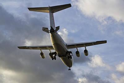 British Aerospace Bae 146 Poster by David Pyatt