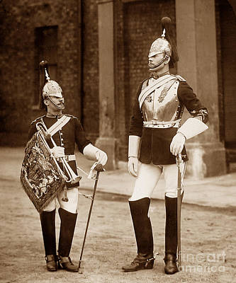 British Army Royal Horse Guards Poster by The Keasbury-Gordon Photograph Archive