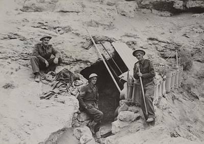 British Defenders Of The Tobruk Poster by Everett