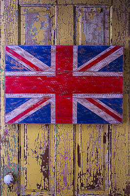 British Folk Art Flag Poster