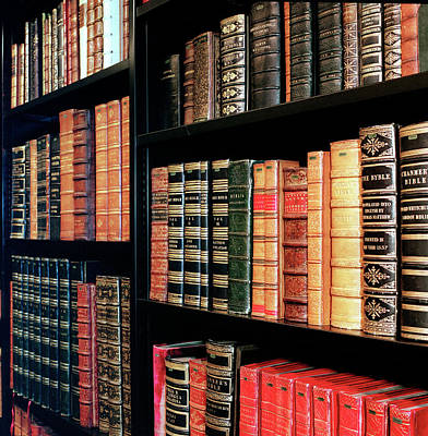 British Library King's Library Poster by British Library