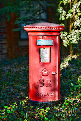 British Mail Box Poster by Paul Ward
