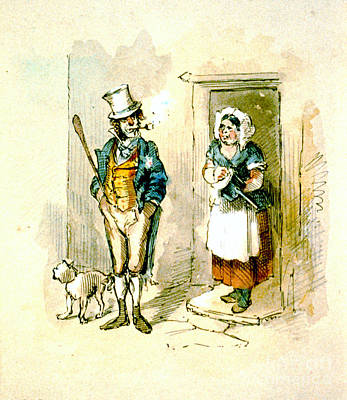 British Married Couple 1846 Poster by Padre Art