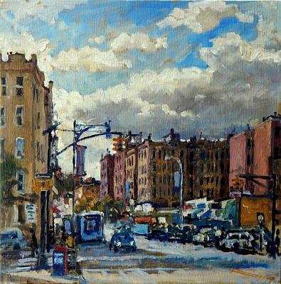 Broadway Backlight New York City Poster by Thor Wickstrom