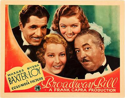 Broadway Bill, Us Lobbycard, Front Poster