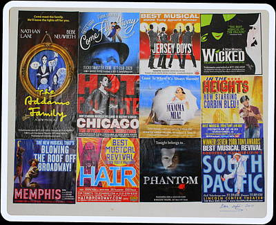 Broadway's Favorites Poster