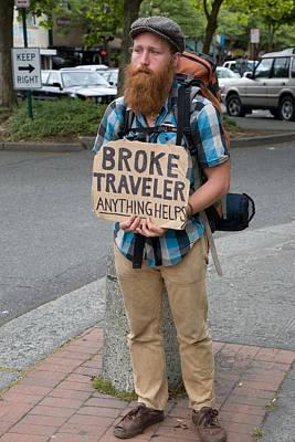 Broke Traveler Poster