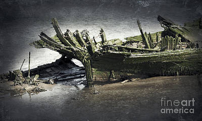 Broken And Forgotten  Poster by Svetlana Sewell