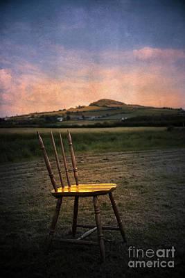 Broken Chair Poster by Svetlana Sewell
