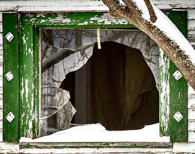 Broken Glass Poster by John Haldane