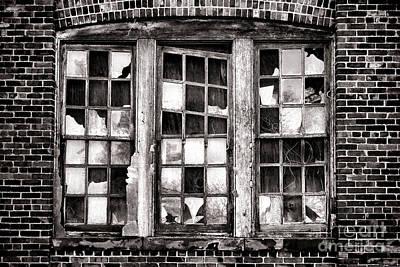 Broken Industrial Dreams Poster by Olivier Le Queinec