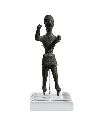Bronze Figurine Of Baal Poster
