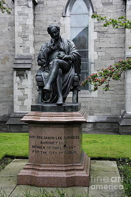 Bronze Statue Of Sir Benjamin Lee Guinness  Poster by Christiane Schulze Art And Photography