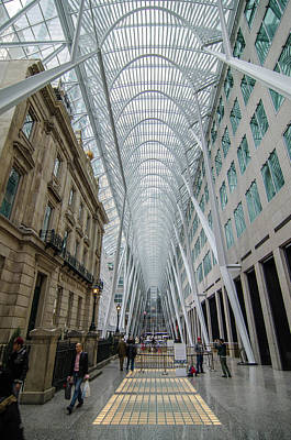 Brookfield Place 1149 Poster by Guy Whiteley