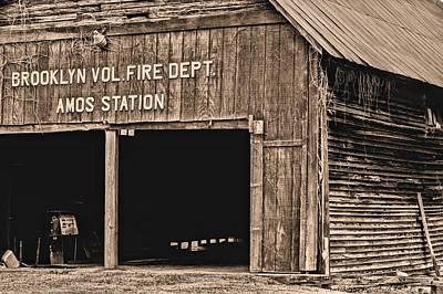Brooklyn Alabama Fire Dept Poster