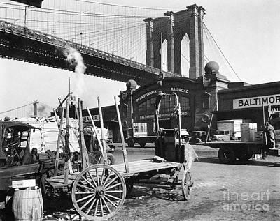 Brooklyn Bridge, 1937 Poster