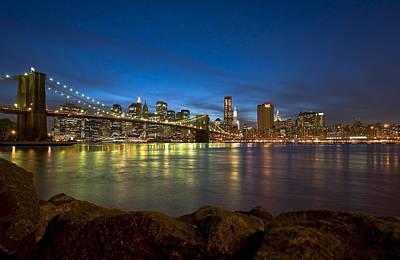 Brooklyn Bridge Poster by Svetlana Sewell