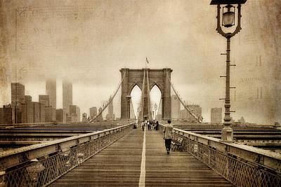 Brooklyn Memoirs Poster by Joann Vitali
