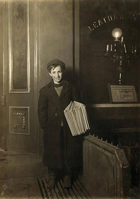 Brooklyn Newsboy, 1909 Poster