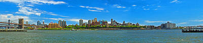 Brooklyn Panorama I Poster