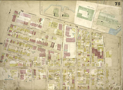 Brooklyn, Vol. 4, Double Page Plate No. 75 Map Bounded Poster by Litz Collection