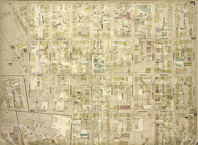 Brooklyn, Vol. 4, Double Page Plate No. 81 Map Bounded Poster