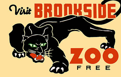 Brookside Zoo Poster by Jennifer Rondinelli Reilly - Fine Art Photography