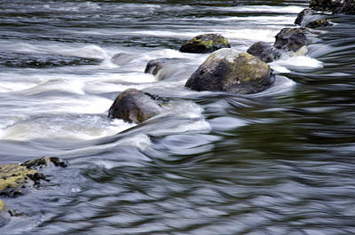 Brora River Scotland Poster by Sally Ross