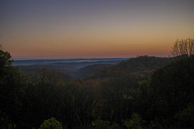 Brown County State Park Nashville Indiana Sunrise Poster